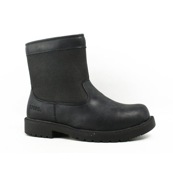 Shop Totes Mens Black Snow Boots Size 8 - Free Shipping On Orders ... c79e2f10d696