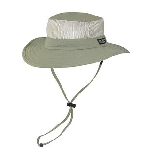Dorfman Pacific Wide Brim Sun Supplex Hat with Mesh Sides (3 options available)