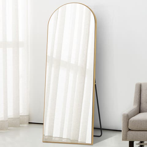 Arched Wall Mirror Standing Dressing Mirror