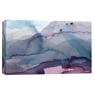 """PTM Images 9-101894  PTM Canvas Collection 8"""" x 10"""" - """"Water Landscape"""" Giclee Abstract Art Print on Canvas"""
