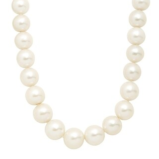 """Honora 12-16 mm Ming Freshwater Pearl Strand Necklace in 14K Gold, 20"""""""