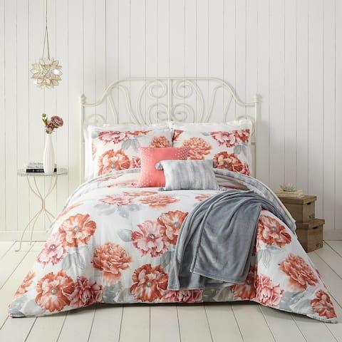 Jessica Simpson Golden Peony 6 Piece Comforter Set
