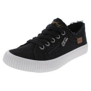 Blowfish Womens Coyote Casual Shoes Frayed Low Top