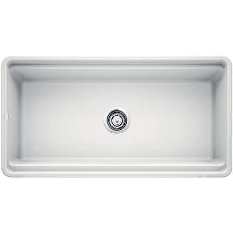 "Blanco 523026 Profina 36"" Farmhouse Single Basin Fireclay Kitchen Sink"
