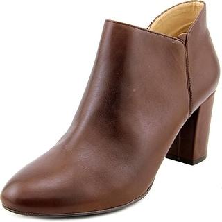 H by Halston Anna Women  Round Toe Leather  Bootie