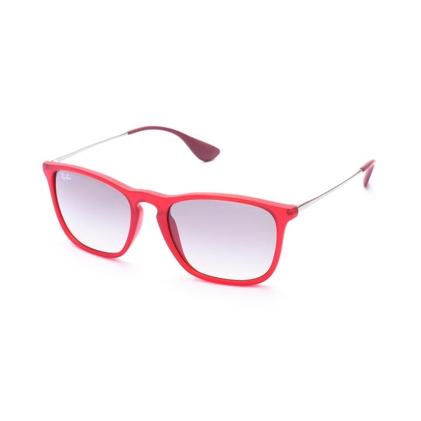 1a63e2ff45 Shop Ray-Ban Chris Sunglasses Red - Small - Free Shipping Today -  Overstock.com - 12300783