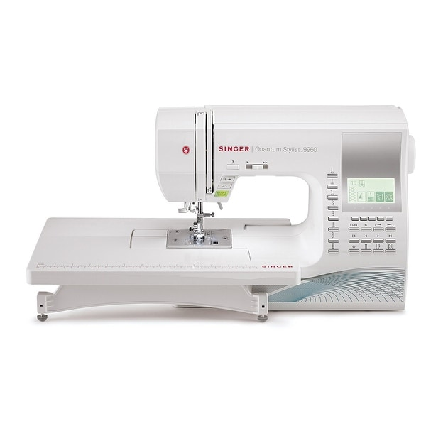 Shop Singer Co 40 Quantum Computerized Portable Stylist Sewing New Omega 3000 Sewing Machine