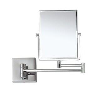 "Nameeks AR7721-5X  Glimmer 8-1/2""W x 6-3/10""H Magnifying Mirror - Chrome"