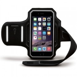 Body Glove Endurance Armband for Apple iPhone 6 (Black/Silver)
