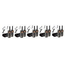 Uniden GMR4088-2CKHS (10-Pack) Camo Two Way Radio with VOX Headset Mic