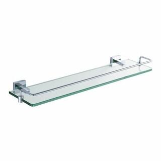 """Link to Kraus KEA-14445 Aura 20-1/10"""" Glass Shelf with Brass Railing Similar Items in Bath"""