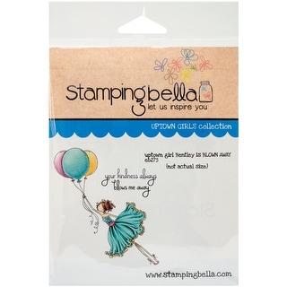 "Stamping Bella Cling Stamp 6.5""X4.5""-Uptown Girl Bentley Gets Blown Away"