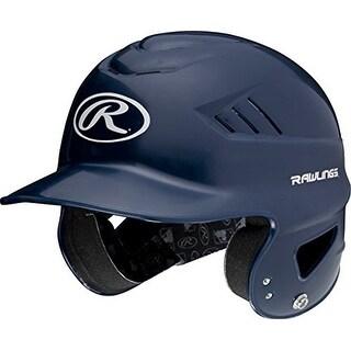 Rawlings Coolflo Molded Batting Helmet (Navy)