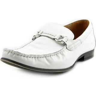 Steve Madden Winlock Square Toe Leather Loafer