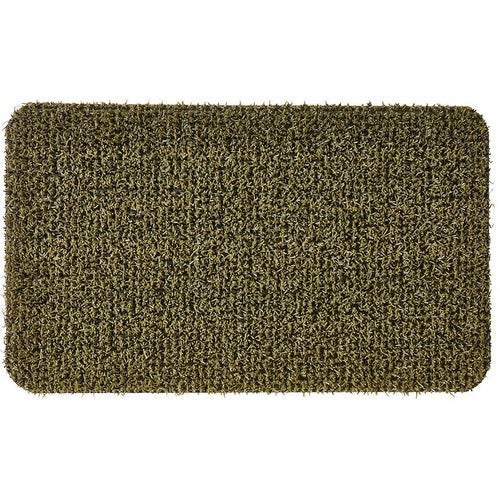 Grassworx 10376434 Flair Medium Door Mat, 30 x 18, Urban Green