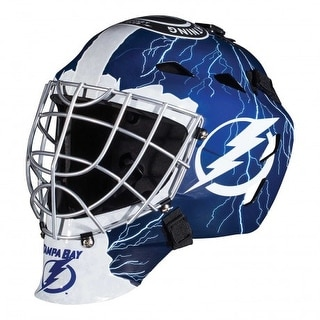 Tampa Bay Lightning Full Size Youth Goalie Hockey Mask