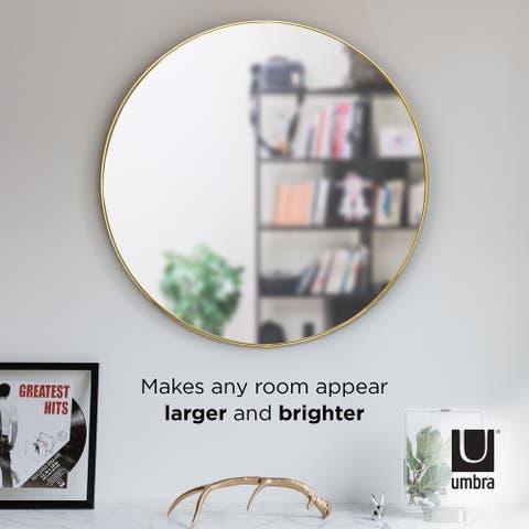 """Umbra HUBBA 34"""" Wall Mirror - 34x34x1.13"""