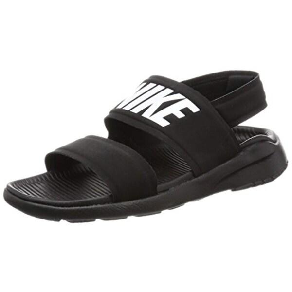 timeless design d5c9a dab25 Nike Tanjun Womens Sandal (Black White Black 882694-001