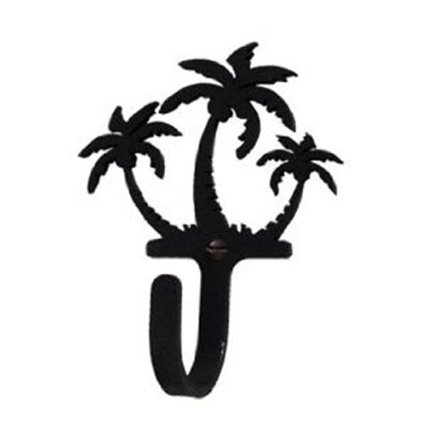 Shop Village Wrought Iron Wh 139 S Triple Palm Trees Hook Small