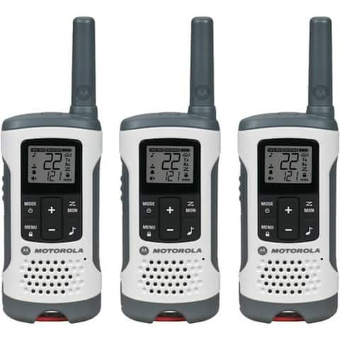 Motorola T260TP 2-Way Radios Triple Pack