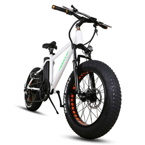 Nakto Mini Cruiser Fat Tire Electric Bike W