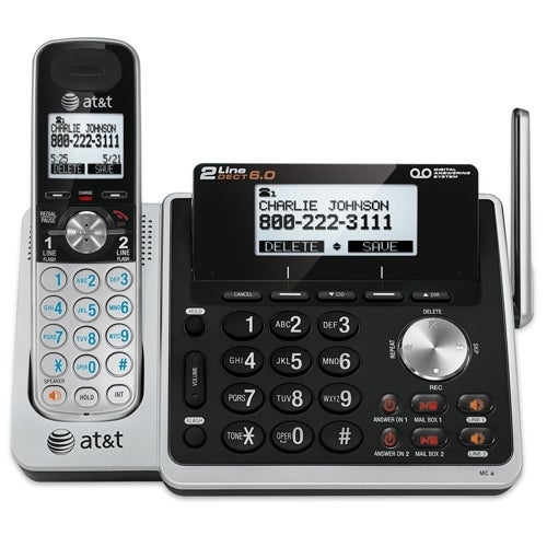AT&T TL88102 DECT 6.0 Cordless Phone System w/ 4 Handset Bundle