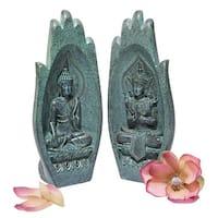 Design Toscano Namaskara Mudra Buddha Hands Statue - Each: 4.5 x 4 x 8.5