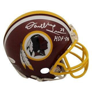 Darrell Green Autographed Washington Redskins Mini Helmet HOF JSA