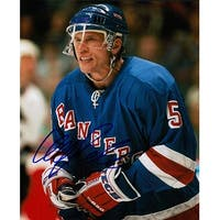 Signed Samuelsson Ulf New York Rangers 8x10 Photo autographed