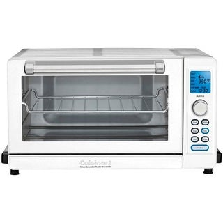 Cuisinart Deluxe Convection Toaster Oven Broiler (White)- Refurbished