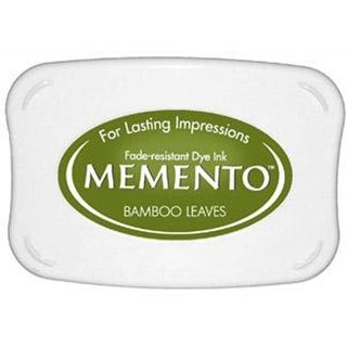 Tsukineko Memento Ink Pad Bamboo Leaves
