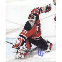 Signed Brodeur Martin New Jersey Devils 8x10 Photo autographed