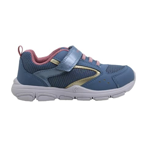 Kids Geox Girls Unique Fabric Low Top Bungee Walking Shoes - 12