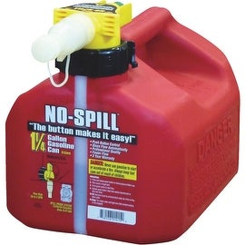 No-Spill 1.25 Gal Gas Can