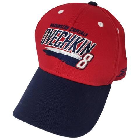 Alexander Ovechkin Washington Capitals Reebok Adjustable Hat