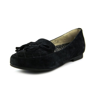 Propet Kate Women Round Toe Suede Black Loafer