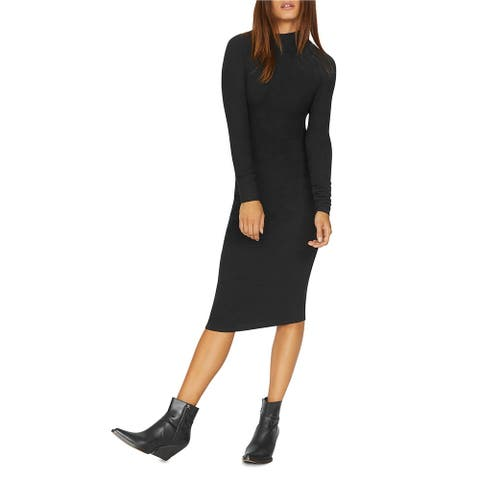 Sanctuary Clothing Womens Ruched Knit Midi Dress