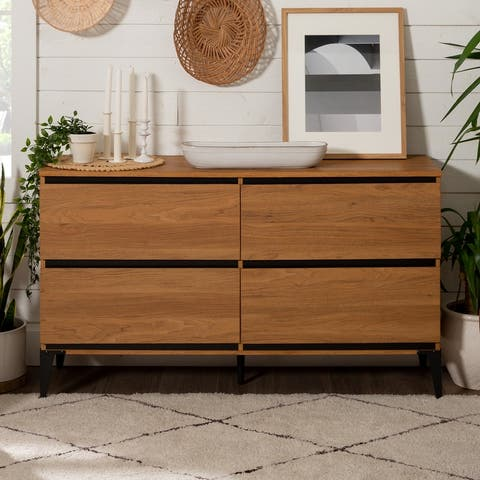 Strick & Bolton 52-inch 4-Drawer Buffet Sideboard
