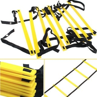 13ft 8-rung Agility Ladder Speed Fitness Soccer Feet Training Hurdles