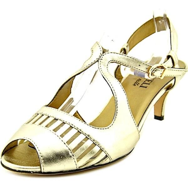 Vaneli Ulva Women N/S Open Toe Leather Sandals