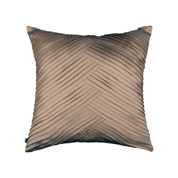 Shop Modern Glam Solid Pleated Decorative Handmade Textured ...
