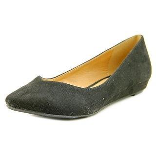 CL By Laundry Shanice Women Pointed Toe Synthetic Black Flats