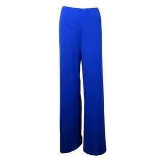 Alfani Women's Solid Wide-Leg Jersey Pants