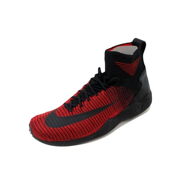 Nike Men's Zoom Mercurial XI Flyknit FC University Red/Black-Team Red852616-600
