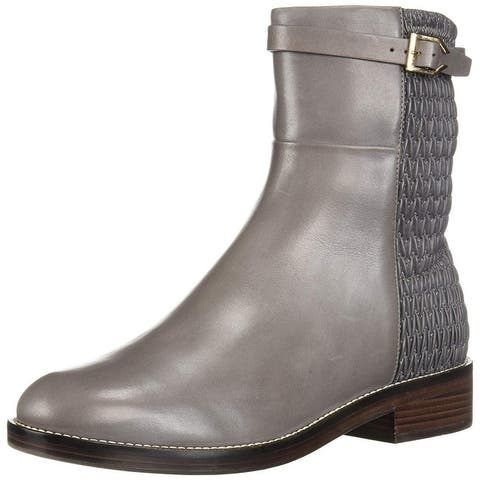 Cole Haan Women's Lexi Grand Stretch Strap Boot Mid Calf
