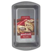 """Good Cook 04025 Non-stick Loaf Baking Pan, Medium, 8"""" X 4"""""""