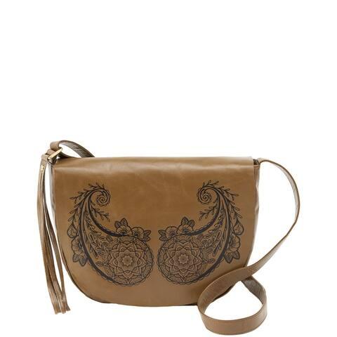 Hobo Maverick Leather Saddle Bag