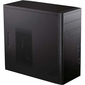 Antec VSK3000E Antec System Cabinet - Mini-tower - Black - Steel - 5 x Bay - 1 x Fan(s) Installed - Micro ATX, Mini ITX