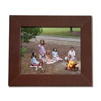 Dacasso A3036 8x10 Leather Photo Frame