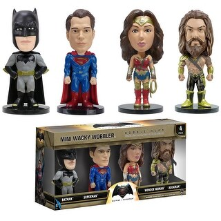 Batman v Superman Mini Wacky Wobbler Set - multi
